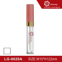 Buy cheap Pink color lipgloss tube lipgloss container from wholesalers