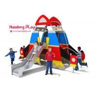 Buy cheap Daycare HDPE Playground  Steel Tube Material 460*370*300cm Wide Color Range from wholesalers
