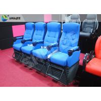 Buy cheap Blue 4 Seats 1 Sets 4D Home Cinema Equipment With Foot Support product