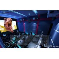 Buy cheap Blue Color 5D Cinema Equipment, Indoor / Outdoor Playground Equipment product