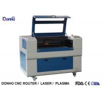 Buy cheap Blue Up And Download Table Fabric Laser Cutting Machine For Thick Non Metal Cutting from wholesalers