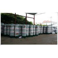Buy cheap High Pressure Compressed Air Buffer Storage Tank Stainless Steel Horizontal product