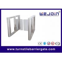 Buy cheap Automatic Swing Barrier Gate Integrated with Card Readers and Software product