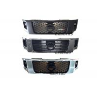 Buy cheap ABS Plastic Chrome Grille Guard Front , Custom Mesh Grills For Nissan Navara NP300 from wholesalers