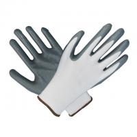 Buy cheap High Elasticity Nitrile Work Gloves For Protecting Hands Against Fluids from wholesalers