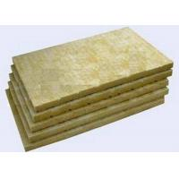 Buy cheap High Strengh Rigid Rockwool Insulation Boards Acoustic Insulation Materials Indoor / Outdoor from wholesalers