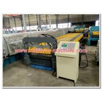 Buy cheap Metra Aluminum Roofing Sheet Corrugation Machine with 5 Tons Decoiler, Automatic Cutting Equipment from wholesalers