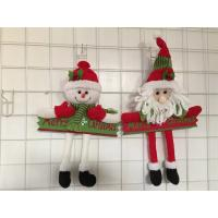 Buy cheap Christmas wood craft  christmas gift hanging item decoration from wholesalers