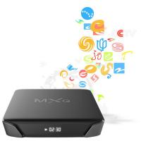 Buy cheap 50FPS 4K Quad Core Android TV Box Dual Band Wifi 100MB Ethenet from wholesalers