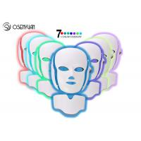 Buy cheap 7 Colors LED Light Therapy Face Mask SPA Facial Rejuvenation / Anti Eye Wrinkles from wholesalers