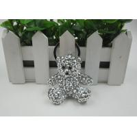 Buy cheap Shining Rhinestone Resin Bear Beautiful Key Chains Light Convenience For Kids product