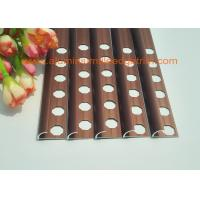 Buy cheap Rounded Face Edge Aluminium Shower Porcelain Tile Edge Trim  10mm Matt Copper from wholesalers