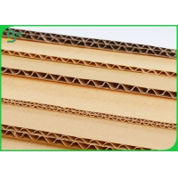 Buy cheap 3mm 5mm Thickness Flute Corrugated CardBoard For Courier Carton Making from wholesalers
