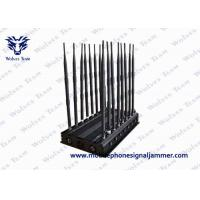 Buy cheap 16 Antennas Mobile Phone Signal Jammer 3G 4GLTE / Wimax Phone Blocker product