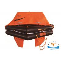 Buy cheap Fishing Boat Marine Life Raft 10 Person Large Safety Factor For Coastal II Zone from wholesalers