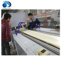 Buy cheap High Speed Pe Pe Extruder Machine , Wood Floor Vc Profile Extrusion Line from wholesalers