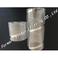 Buy cheap Perforated Stainless Steel Tube , Spiral Welded Tube For Machinery / Strainer from wholesalers
