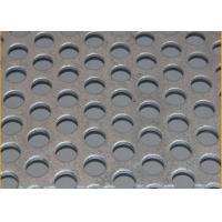 Buy cheap Standard  8mm Pitch Stainless Steel Perforated Sheets Suppliers With  1219mm Width from wholesalers