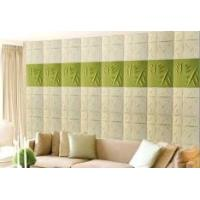 Quality Fashion Modern Textured 3D Wall Decor Panels / 3 Dimensional Wallpaper Heat for sale
