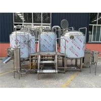 Buy cheap Automatic Beer Production Line 30hl Four Vessels Brewhouse With Plc Control from wholesalers