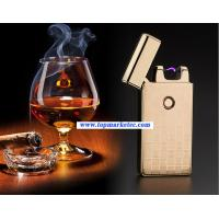 Buy cheap car usb rechargeable arc USB electric lighter cigarette lighter usb cigarette from wholesalers