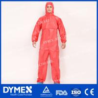 Buy cheap Sterile Cleanroom SMS Safety Coverall for Asbestos Removal from wholesalers
