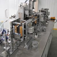 Buy cheap Medical Disinfectant Wet Wipes Packaging Machine With CE Certification from wholesalers