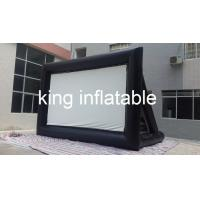 Buy cheap Outdoor Inflatable Movie Screen / Projection Screen For Home Yard Or Advertisement Display from wholesalers