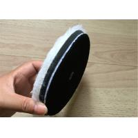 Buy cheap Single Side Wool Cleaning Foam Buffing Pads Wear Resistant For Car And Glass from wholesalers