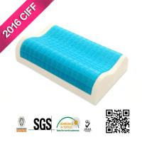 Buy cheap Hotel Sleep Cool Blue Memory Foam Pillow | MEIMEIFU MATTRESS from wholesalers