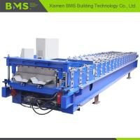 Buy cheap Hidden Wall Roof Panel Roll Forming Machine , Steel Cold Roll Forming Machine from wholesalers
