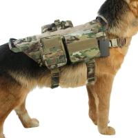 Buy cheap Military Training Outdoor Adjustable Dog Harness Breathable Eco-Friendly from wholesalers