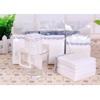 Buy cheap Narrow Single Serve Iced Coffee Filter Bag White Color With Food Grade Material from wholesalers