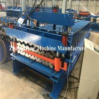 Buy cheap Double Deck Glazed Tile Roll Forming Machine With Hydraulic Motor Control 25m/Min from wholesalers