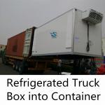 Buy cheap Fiberglass Insulated Truck Van Body with PU Foam Sandwich Panel from wholesalers