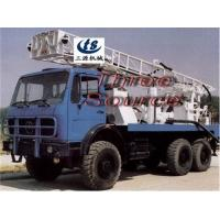 Buy cheap Truck drilling rig in desert oil prospecting from wholesalers
