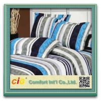 Buy cheap 100% Polyester Fabric Home Textile Products Bed Sheet Sets With Flora Printing from wholesalers