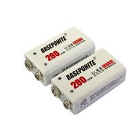 Buy cheap 9V NIMH Rechargeable Batteries, 200mAh Low Self-Discharge Square Battery for Smoke Alarm/Detector from wholesalers