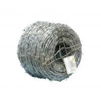Buy cheap Oxidation Resistant Galvanized Barbed Wire Easy Assembled Long Use Life from wholesalers