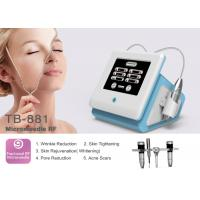Buy cheap 0.5-3mm Adjustable Portable Fractional RF Microneedle Machine For Wrinkle / Stretch Mark Removal from wholesalers