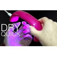 Buy cheap Portable LED Lamp Nail Dryer With USB 9w 395nm Family Personal Use from wholesalers