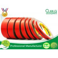 Buy cheap Red Color Double Sided Window Foam Tape , PE Acrylic Foam Tape 20MM X 50M from wholesalers