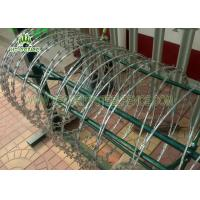Buy cheap Silver Concertina Razor Wire Wire φ 1000mm For High Security Chain Link Fence  from wholesalers
