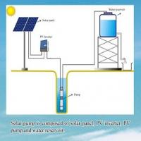 Buy cheap Sunllent  12v 24v 48v mini solar water pump for home irrigation use from wholesalers