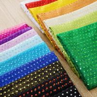 Buy cheap 3mm Decoration Stage Dance Polyester Sequin Fabric For Performance Clothing from wholesalers