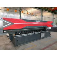 Buy cheap Vertial Type Hydraulic Sheet CNC V Grooving Machine 4m long cutting 89 deg V grooves from wholesalers