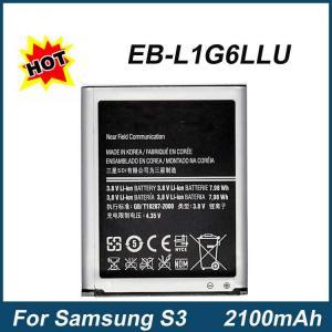 China 2100mAh Samsung S3 Battery EB-L1G6LLU For Galaxy S3 i9300 Cellular High Quality on sale