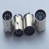 Buy cheap Mini Din Connector 7pin male header solder type from wholesalers