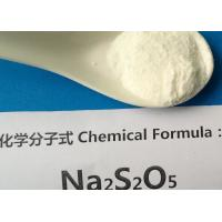 Buy cheap ISO 9001 Sodium Metabisulfite Food Grade Antioxidant CAS No 7681 57 4 from wholesalers