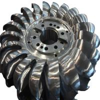 Buy cheap High Efficiency Stainless Steel Pelton Turbine Runner/Pelton Wheel for Hydropower Project from wholesalers